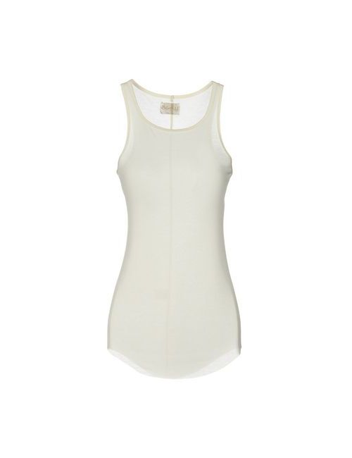 Aviù | White Topwear Vests On