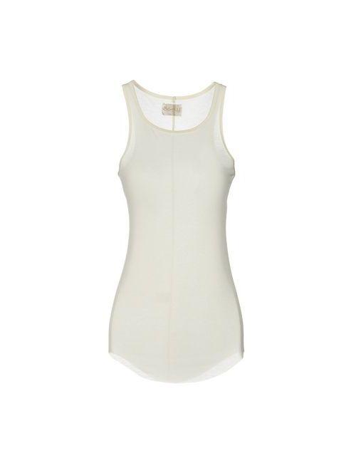 Aviù | White Topwear Vests On