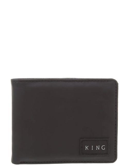 King Apparel   Men's Black Commute Wallet
