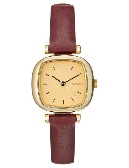 Komono | Women's Bordeaux The Moneypenny Watch Goud
