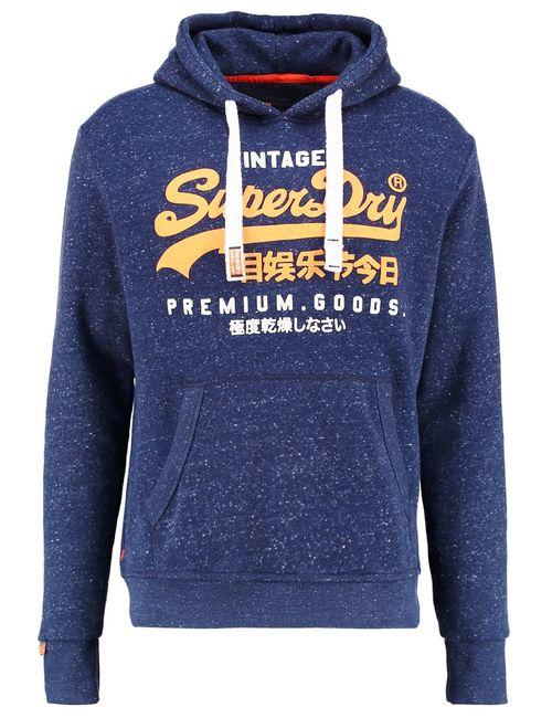 Superdry | Men's Dark Blue Sweatshirt Nautical Navy Grit