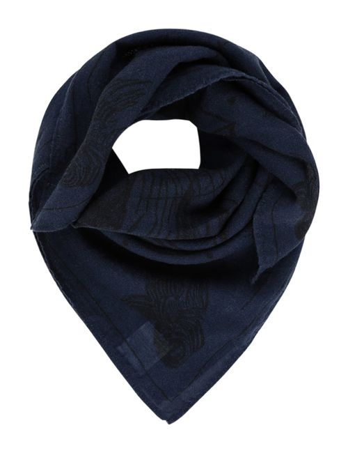 Nudie Jeans | Men's Anthracite Jansson Scarf Midnight