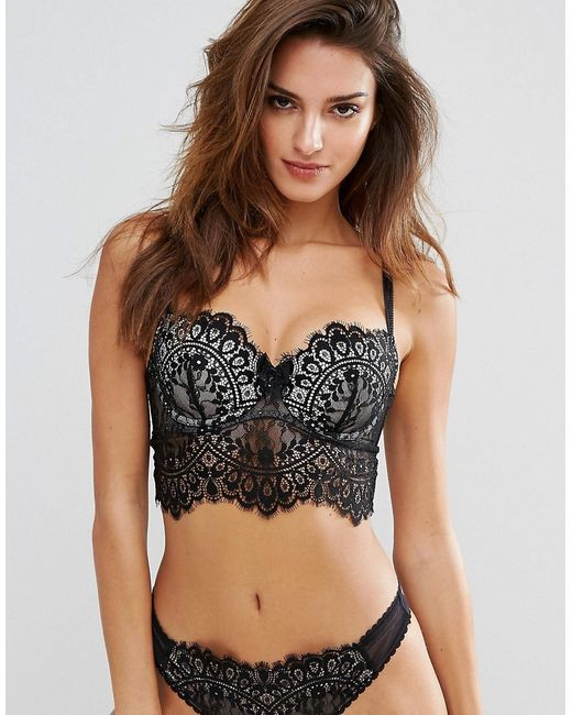 Hunkemoller | Women's Black Alicia Bra