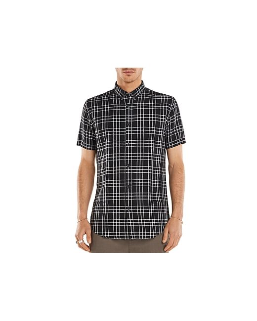 Zanerobe | Men's Bkwht Plaid Regular Fit Button-Down Shirt