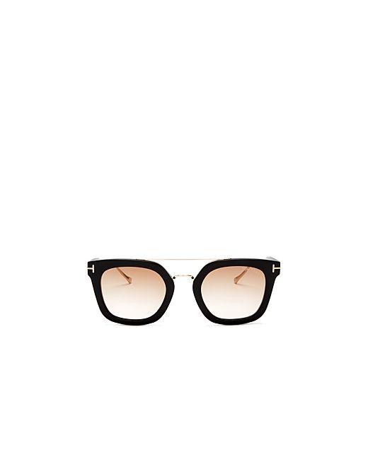 70ecf0c0e748 Tom Ford Black Brow Bar Aviator Sunglasses « Heritage Malta
