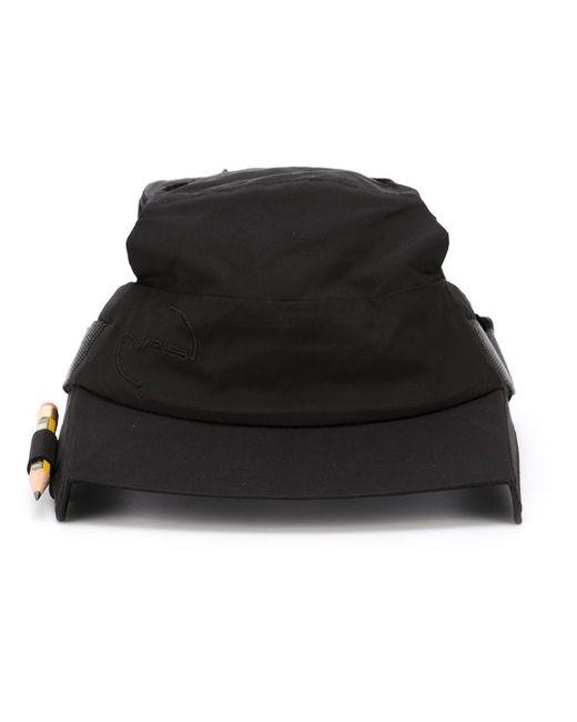 Nasir Mazhar | Men's Black Open Box Peak Cap