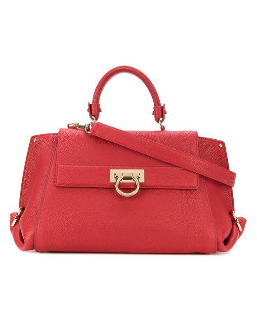 Salvatore Ferragamo | Women's Red Mini Tote Bag