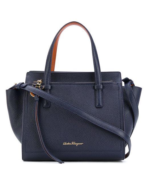 Salvatore Ferragamo | Women's Blue Small Tote Bag