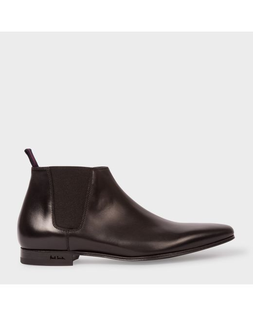 Paul Smith | Men's Black Leather Marlowe Chelsea Boots