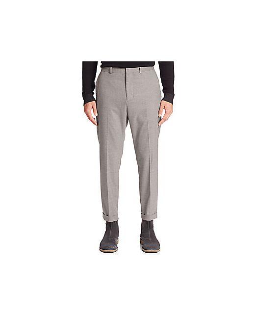 Vince | Men's Gray City Cropped Chino Pants