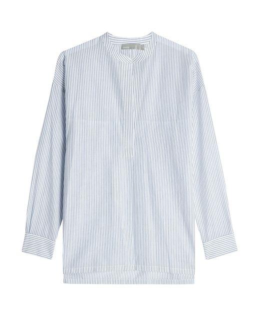 Vince | Black Striped Cotton Tunic Gr. L