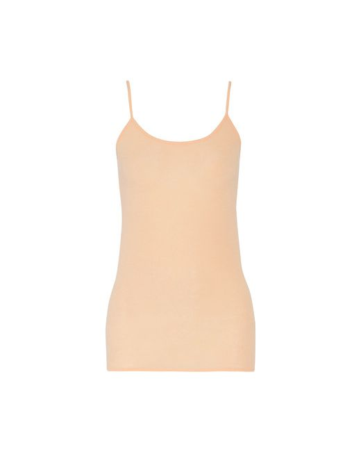 Vince | Peach Stretch-Modal And Wool-Blend Tank