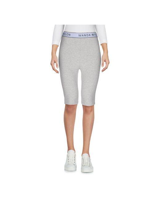 Wanda Nylon | Women's Gray Trousers Leggings On