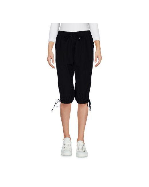 Nasir Mazhar | Women's Black Trousers Bermuda Shorts On