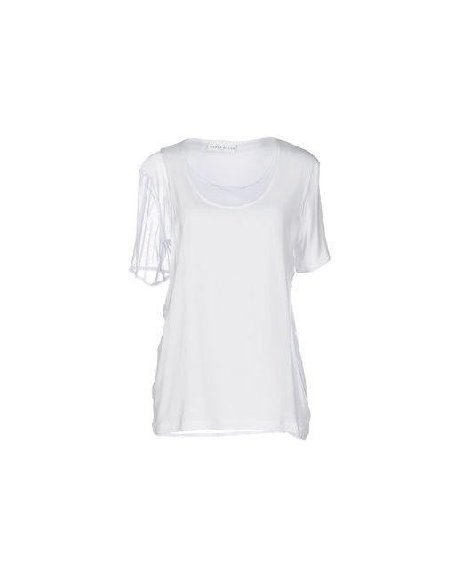 Wanda Nylon   Women's White Topwear T-Shirts On